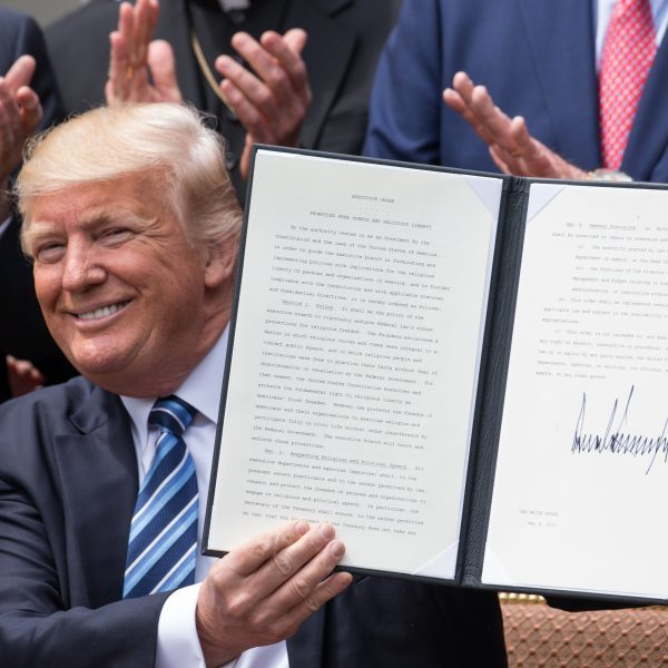 President Trump Signs Executive Order on Promoting Free Speech and Religious Liberty